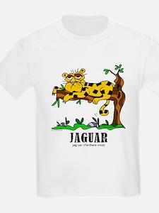 Cartoon Jaguar by Lorenzo T-Shirt