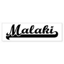 Black jersey: Malaki Bumper Car Sticker