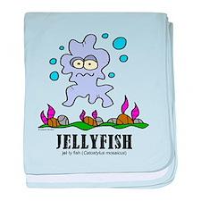 Unique Jellyfish baby blanket