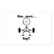 One More Rep Postcards (Package of 8)