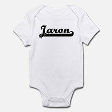 Black jersey: Jaron Infant Bodysuit