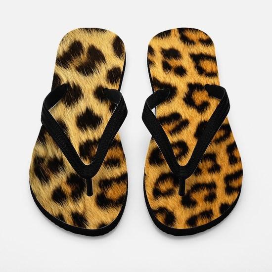 Cute Cheetah Flip Flops
