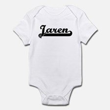 Black jersey: Jaren Infant Bodysuit
