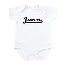 Black jersey: Jaren Onesie