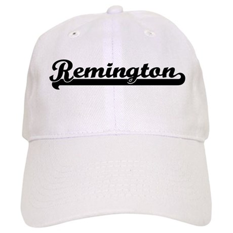 Black jersey: Remington Cap