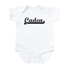 Black jersey: Caden Infant Bodysuit