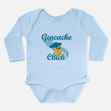 Geocache Chick #3 Long Sleeve Infant Bodysuit