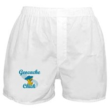 Geocache Chick #3 Boxer Shorts