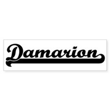Black jersey: Damarion Bumper Bumper Sticker