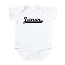 Black jersey: Jamir Infant Bodysuit