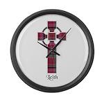 Cross - Leith Large Wall Clock