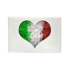 Italian Heart Rectangle Magnet (10 pack)