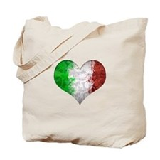 Italian Heart Tote Bag