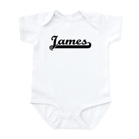 Black jersey: James Infant Bodysuit