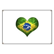 Brazilian Heart Banner