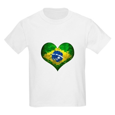 Brazilian Heart Kids Light T-Shirt