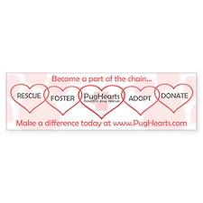 Chain Bumper Sticker