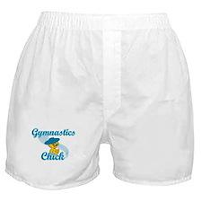 Gymnastics Chick #3 Boxer Shorts