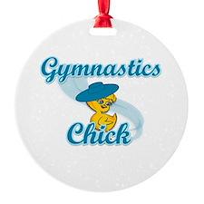 Gymnastics Chick #3 Ornament