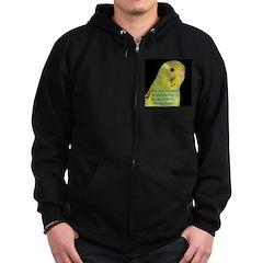 Parakeet 1 - Steve Duncan Zip Hoodie