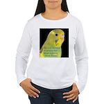 Parakeet 1 - Steve Duncan Women's Long Sleeve T-Sh