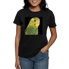 Parakeet 1 - Steve Duncan Women's Dark T-Shirt