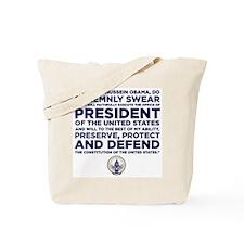 Presidential Oath Tote Bag