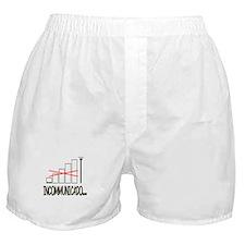 Incommunicado. No bars, no signal. Boxer Shorts