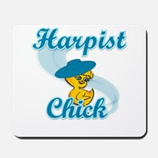 Harpist Chick #3 Mousepad