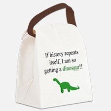 If History Repeats Canvas Lunch Bag
