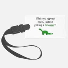 If History Repeats Luggage Tag