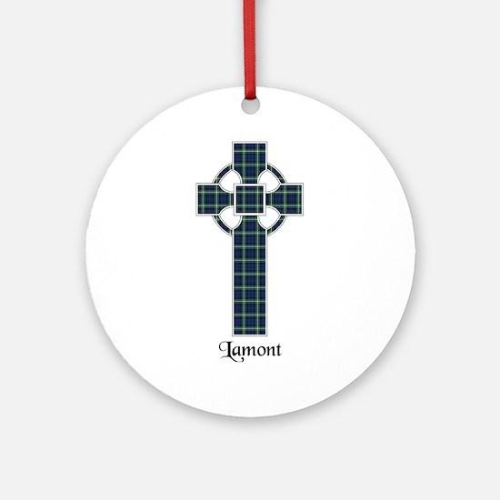 Cross - Lamont Ornament (Round)