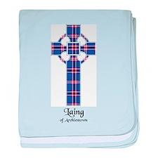 Cross - Laing of Archiestown baby blanket