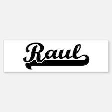 Black jersey: Raul Bumper Bumper Bumper Sticker