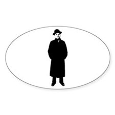 Fred Mertz Oval Decal