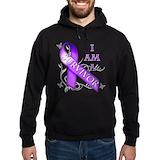 Epilepsy awareness Dark Hoodies