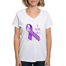 I Am a Survivor (purple).png Shirt