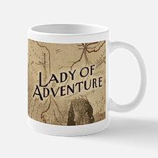 Lady Of Adventure Small Small Mug
