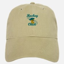 Hockey Chick #3 Baseball Baseball Cap
