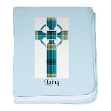 Cross - Laing baby blanket