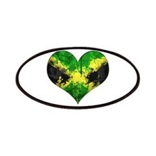 Jamaican heart Patches