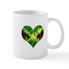 Jamaican heart Mug