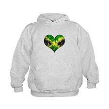 Jamaican heart Hoodie
