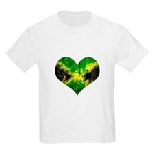 Jamaican heart T-Shirt