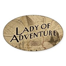 Lady Of Adventure Decal