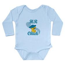 HR Chick #3 Long Sleeve Infant Bodysuit