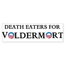 OBAMA DEATH EATERS Bumper Sticker