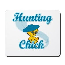 Hunting Chick #3 Mousepad