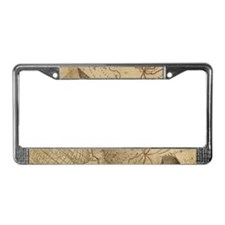 Adventure Collage License Plate Frame