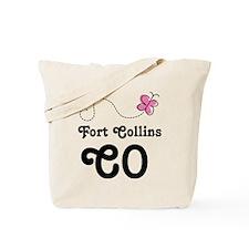 Fort Collins Colorado Tote Bag
